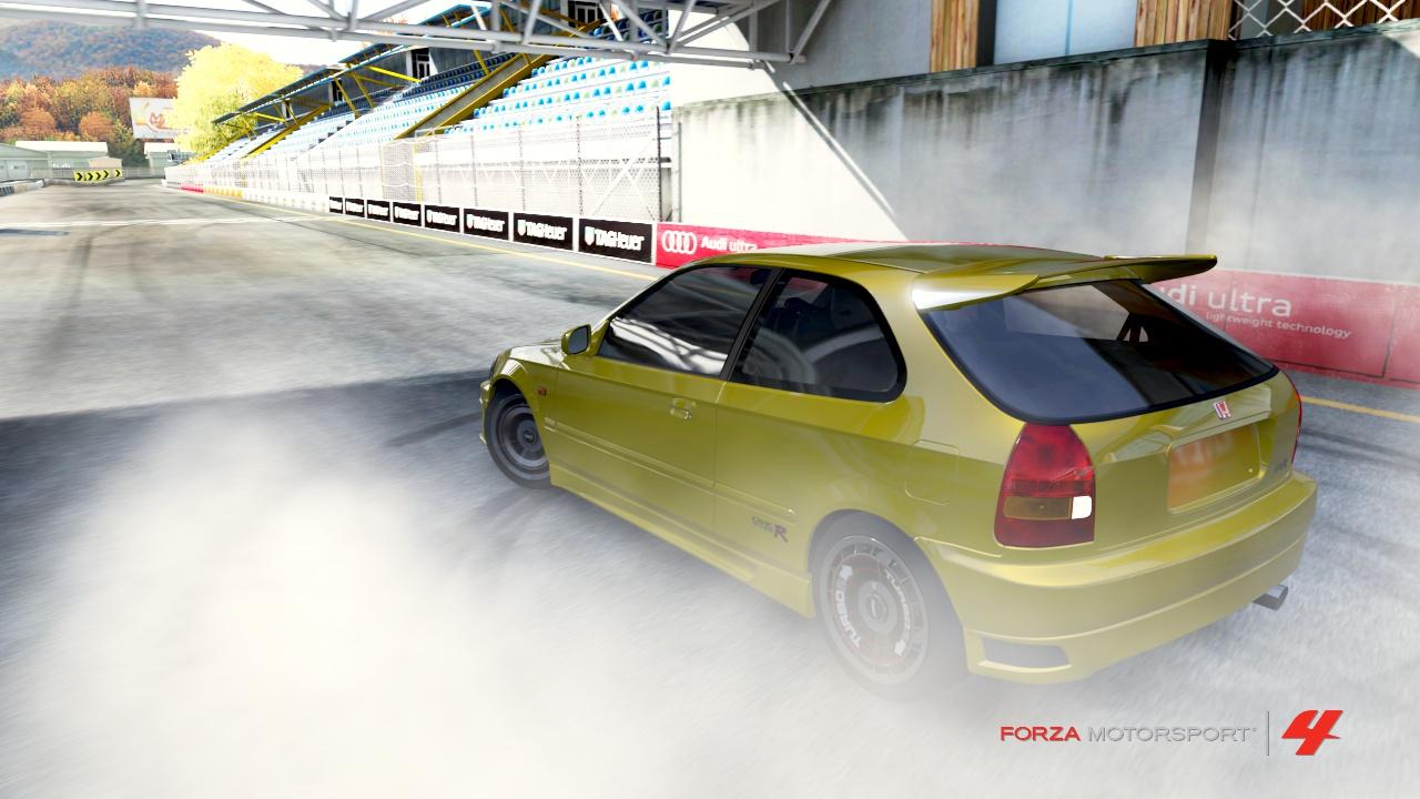 Forza 4 - Civic VTEC tuuuuurbo #4