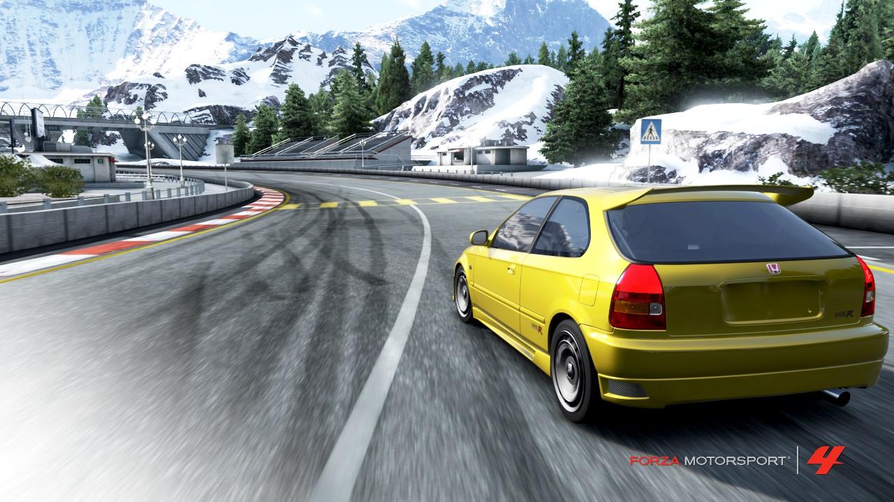 Forza 4 - Civic VTEC tuuuuurbo #2