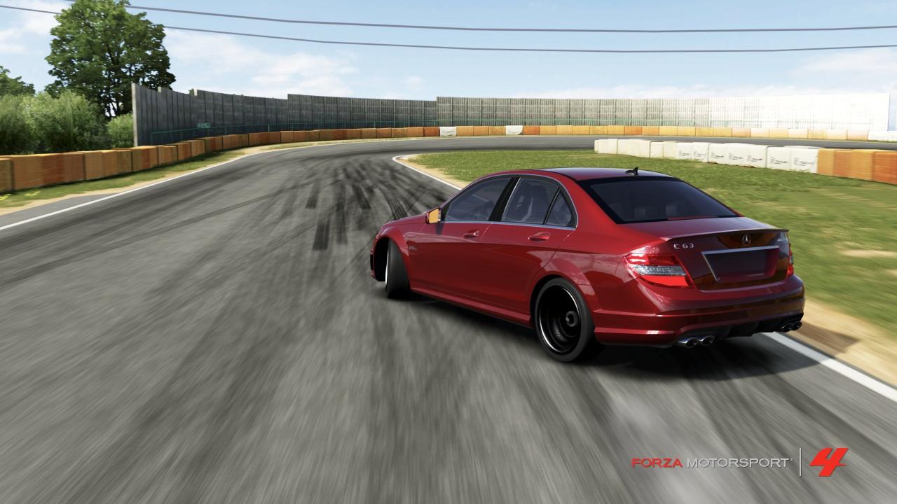 Forza 4 - Merc C63 AMG #2