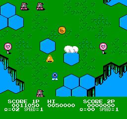 TwinBee 3 - Poko Poko Dai Maou (J) screenshot