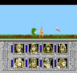 Advanced Dungeons & Dragons - Dragons of Flame (J) screenshot