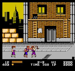 Double Dragon (U) screenshot