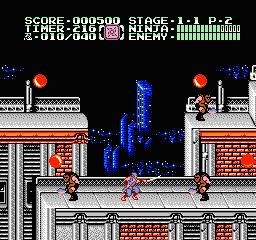 Ninja Gaiden Episode II - The Dark Sword of Chaos (U) (Proto) screenshot