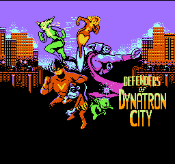 Defenders of Dynatron City (U)  screenshot