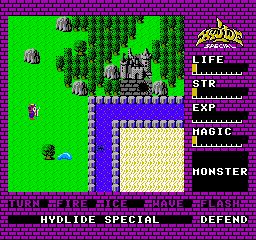 Hydlide Special (J) screenshot