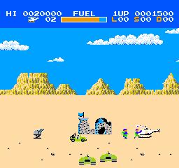 Choplifter (J) screenshot