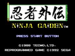 Sega Master System žaidimai