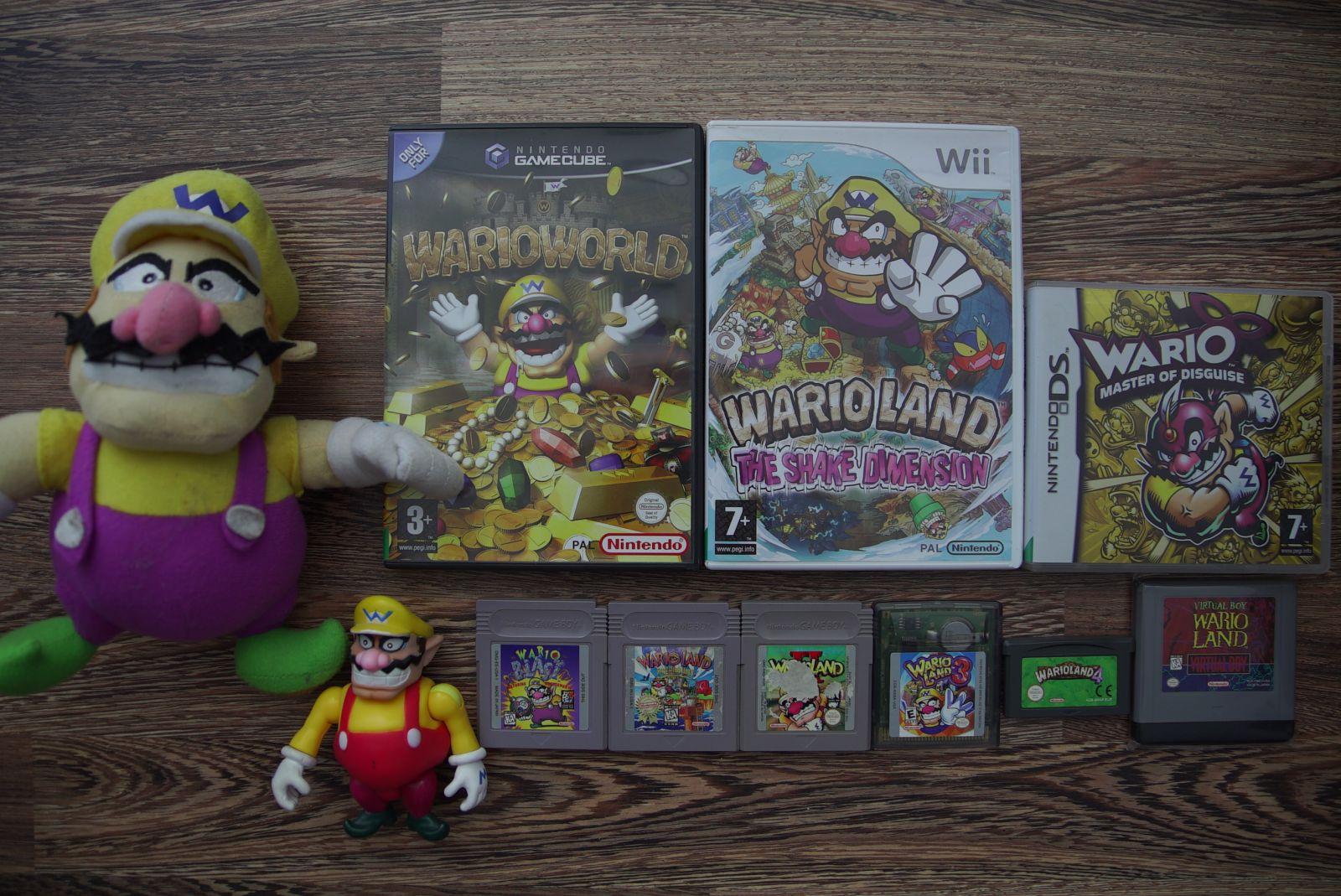 Wario žaidimų kolekcija