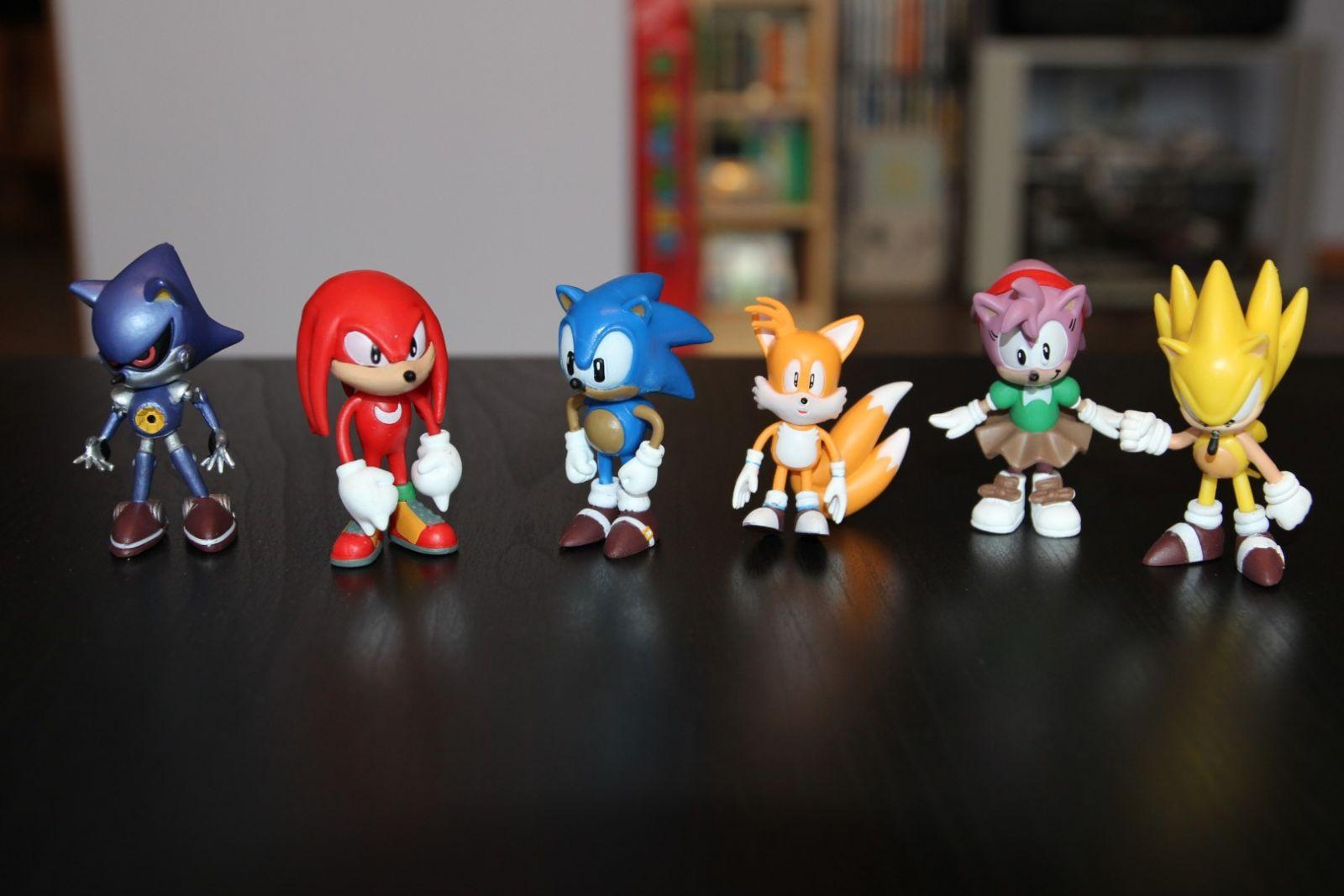 Sonic statulėlės