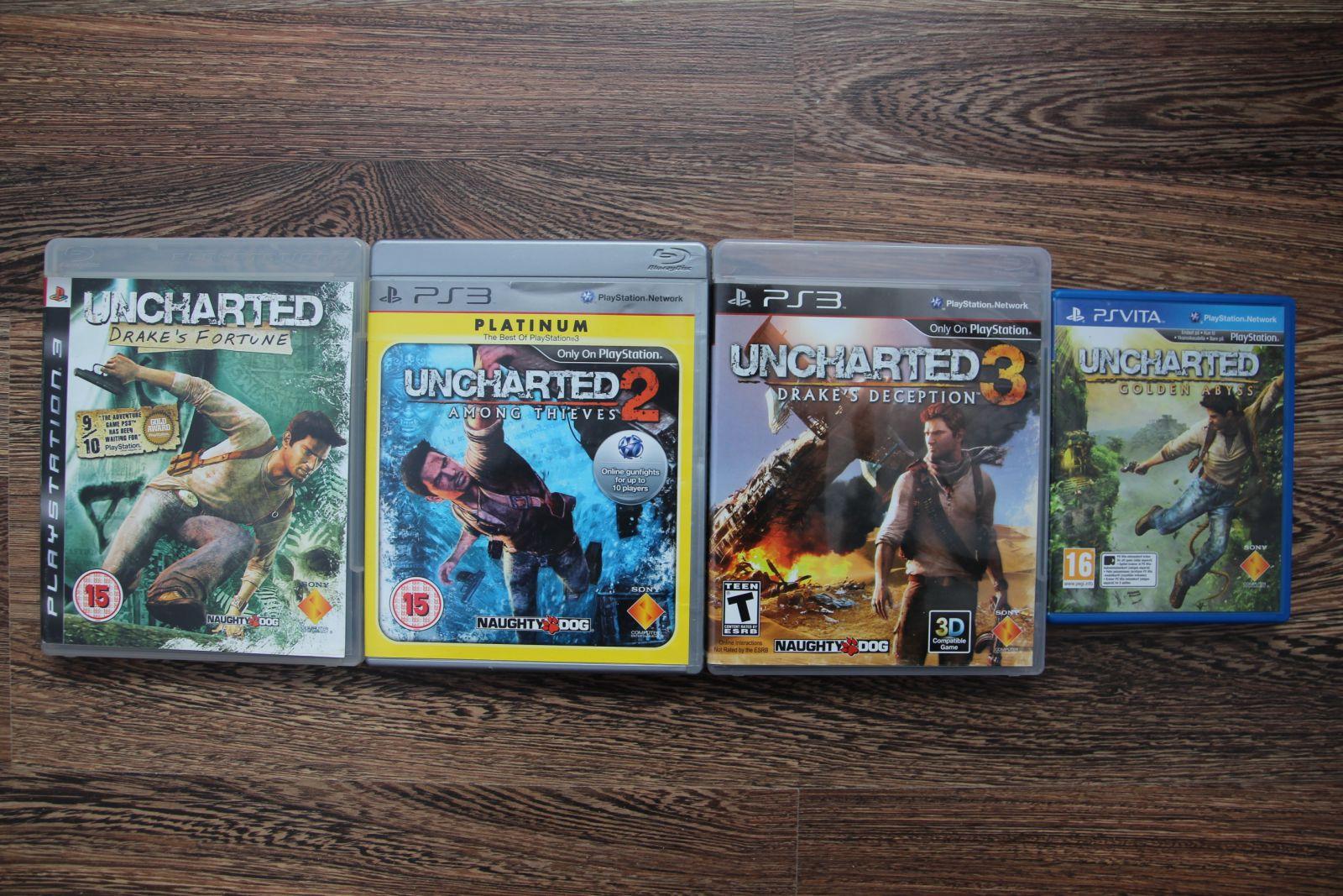 Uncharted serija