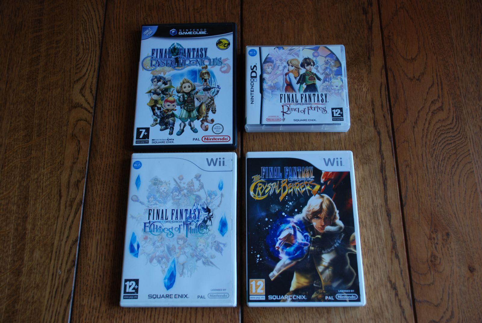 Final Fantasy Crystal Chronicles žaidimų kolekcija