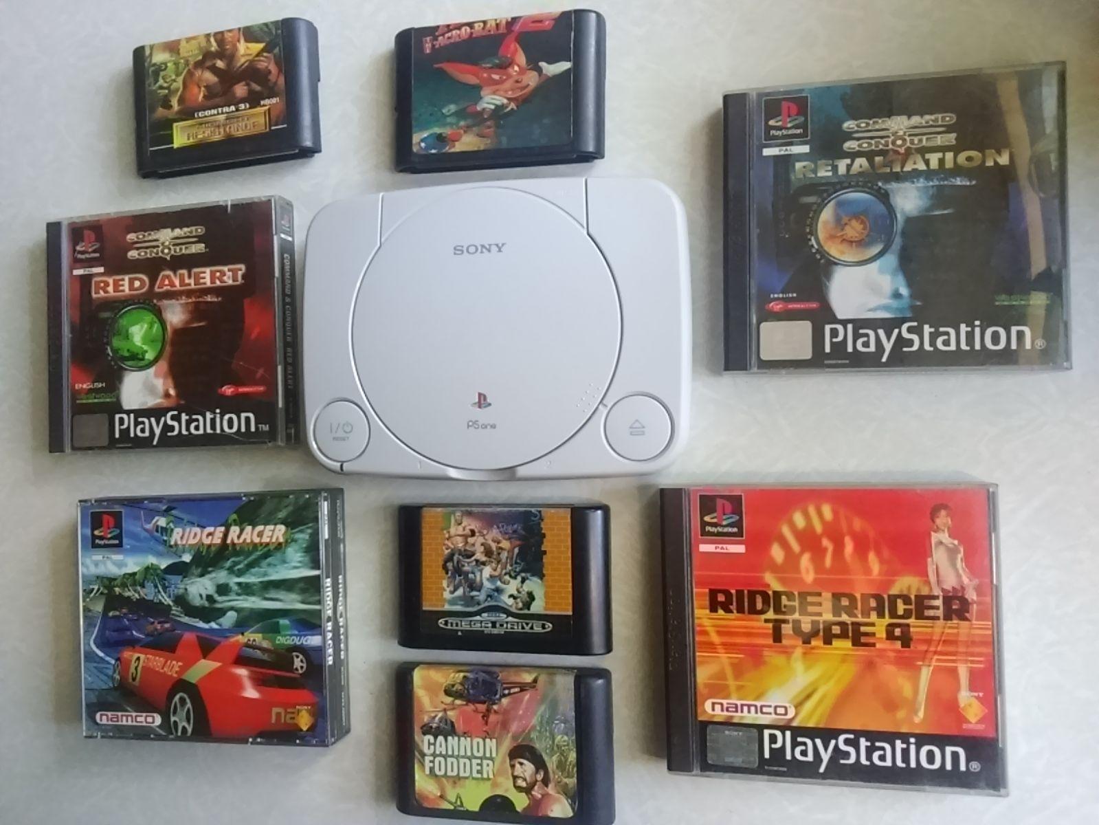 SEGA ir PlayStation kolekcijos papildymas