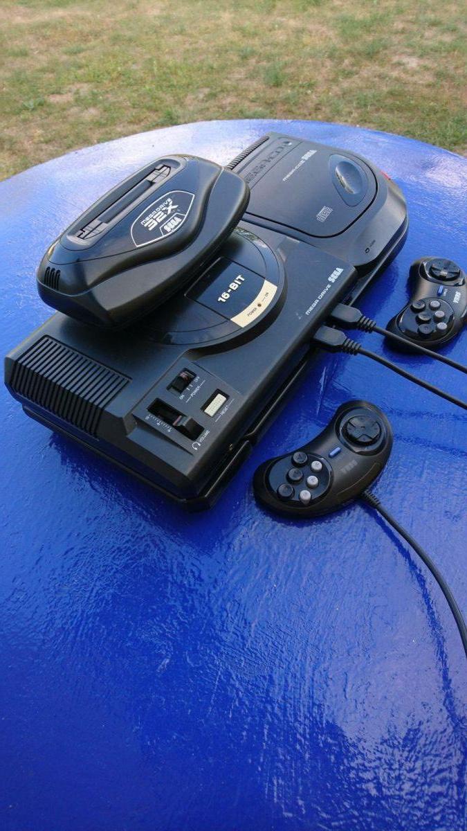 Sega mega drive mega cd 32x