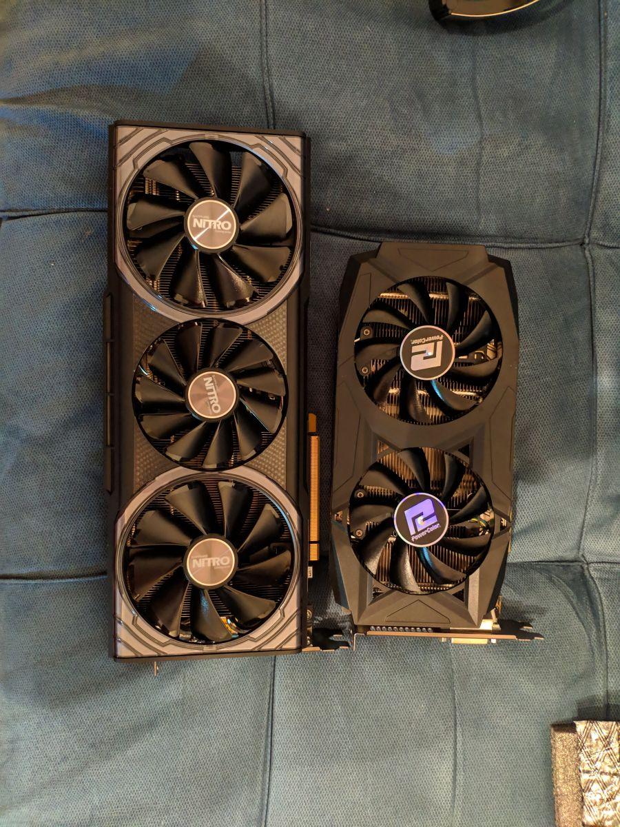 Vega 64 Vs Rx580