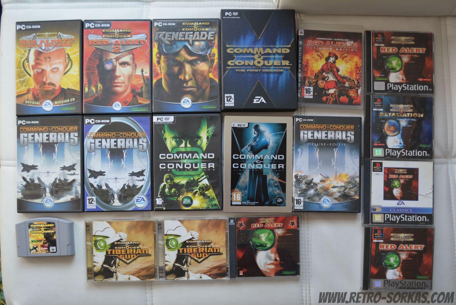 Command And Conquer serija