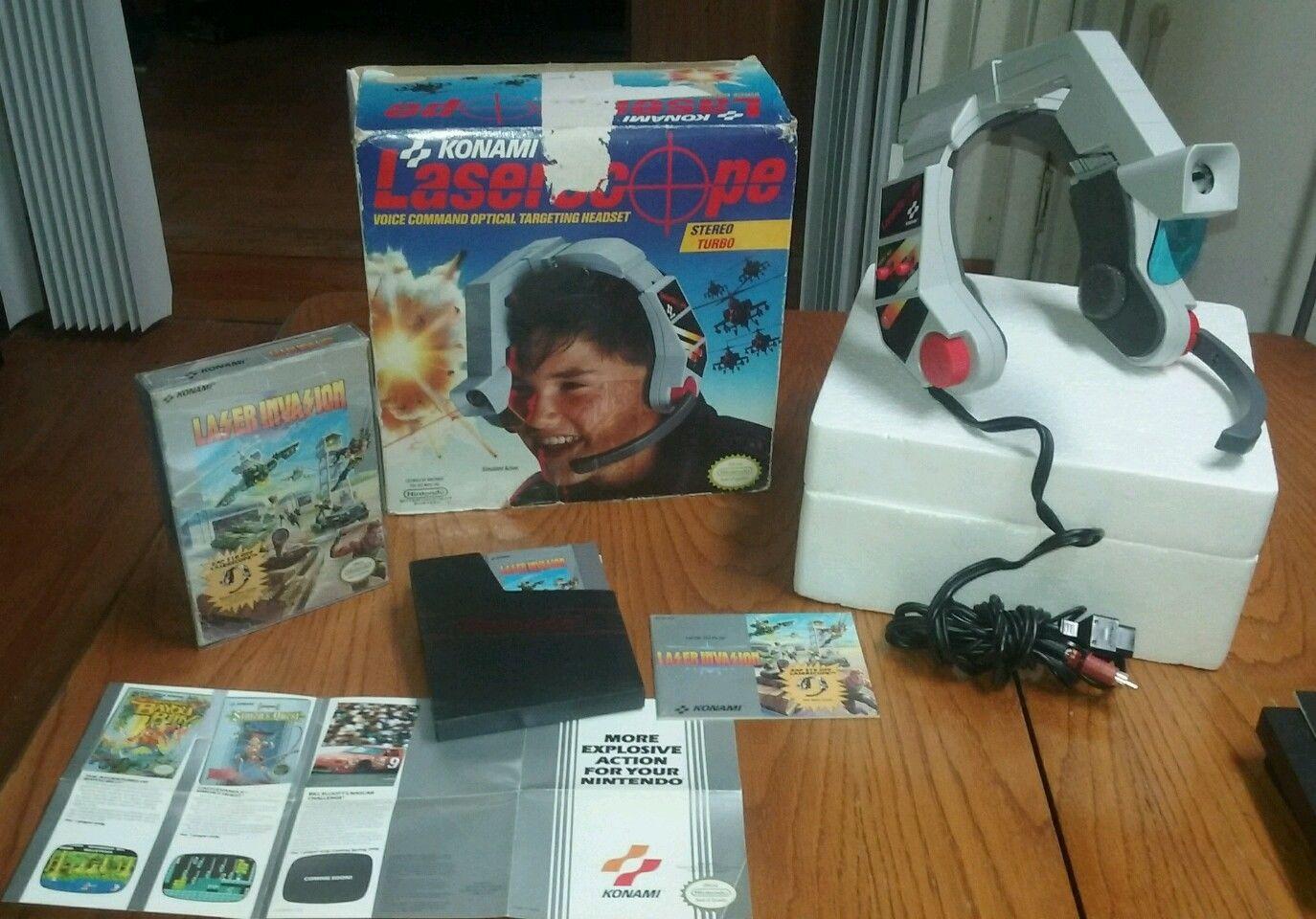Laser Scope Skirtas Nintendo Entertainment System