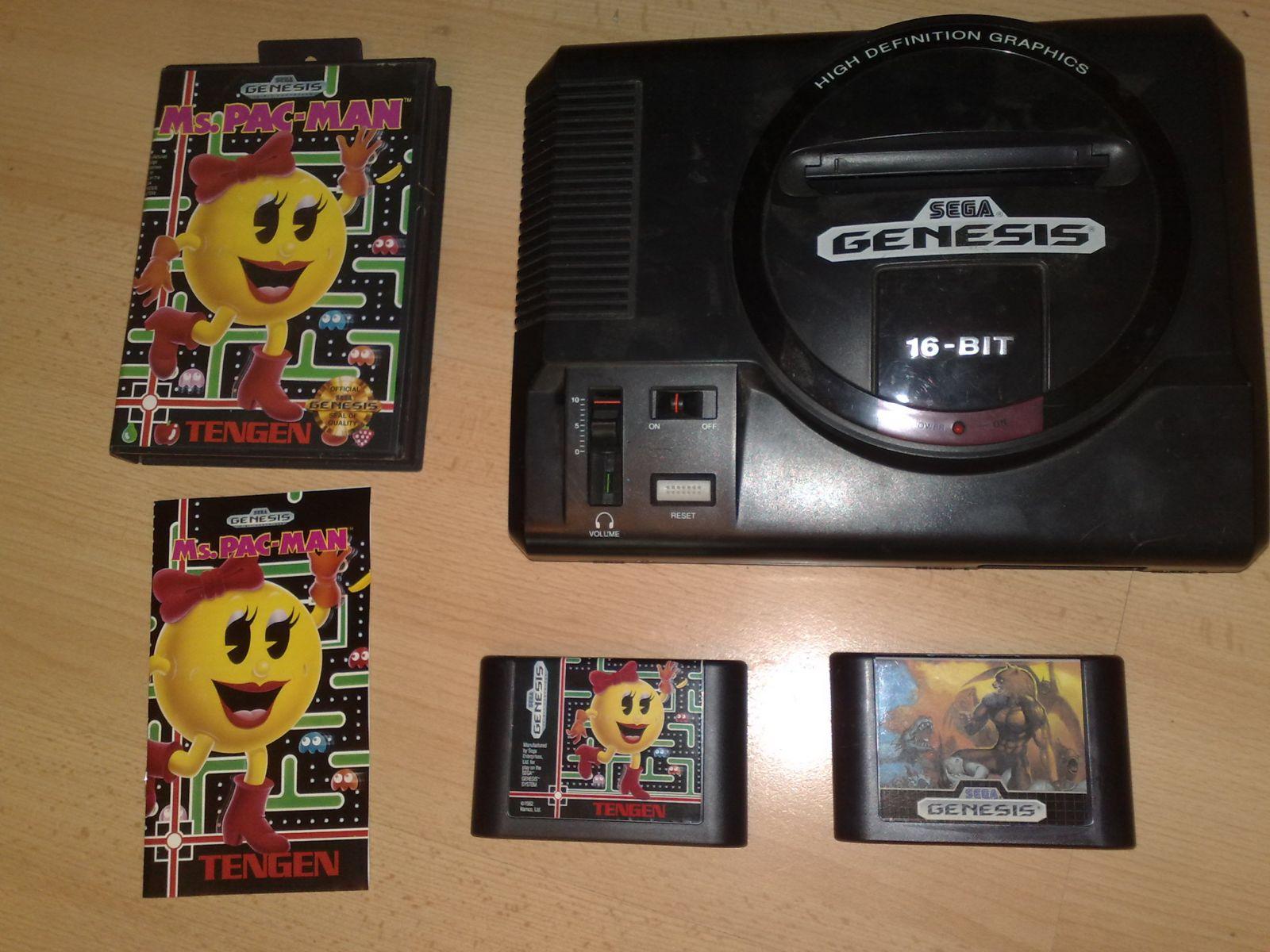 Sega Genesis Su Keliais Žaidimais