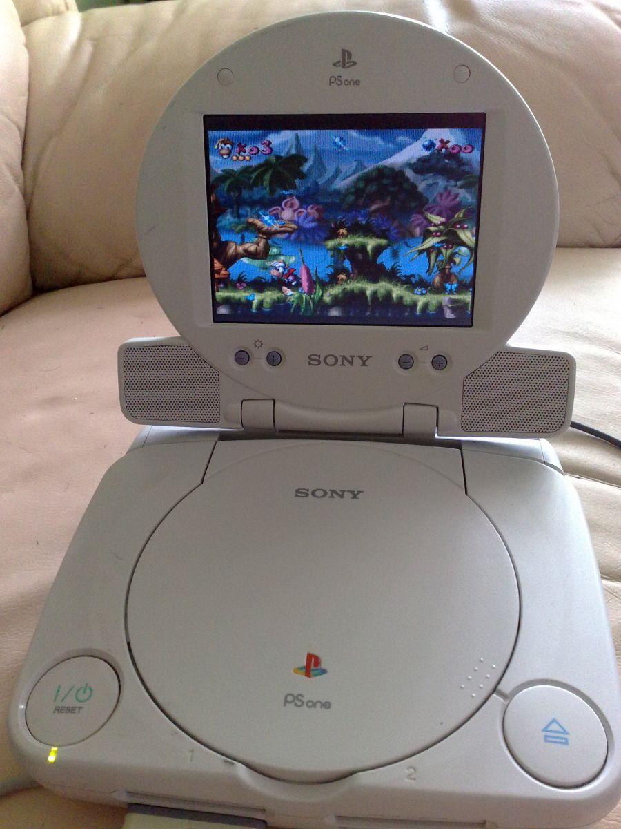 Sony PlayStation One Su LCD Ekranu