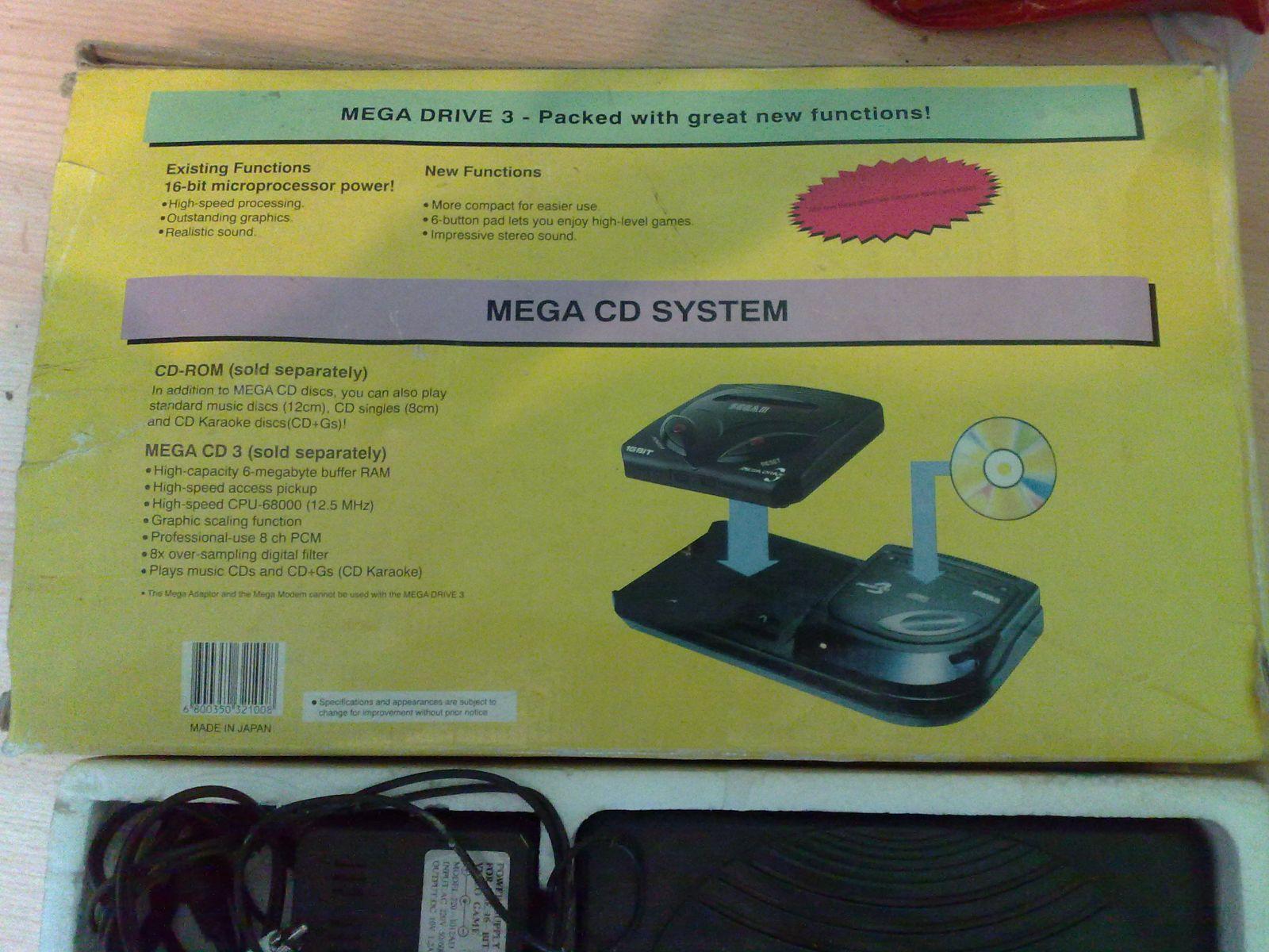 Sega Mega Drive III Dežutės Galas