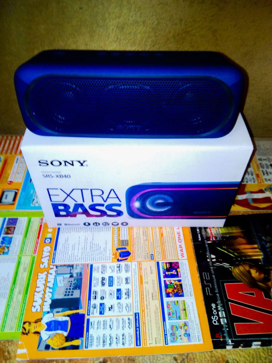 SONY SRS-XB40 EXTRA BASS