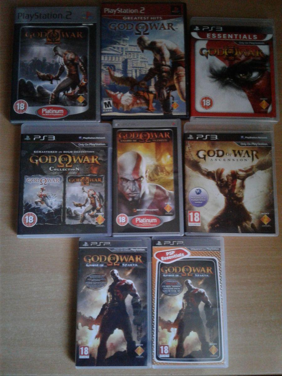God of War kolekcija