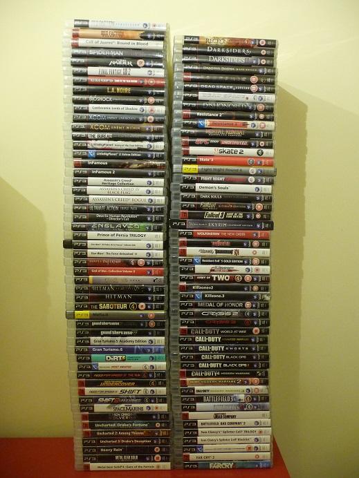 Mano Playstation kolekcija