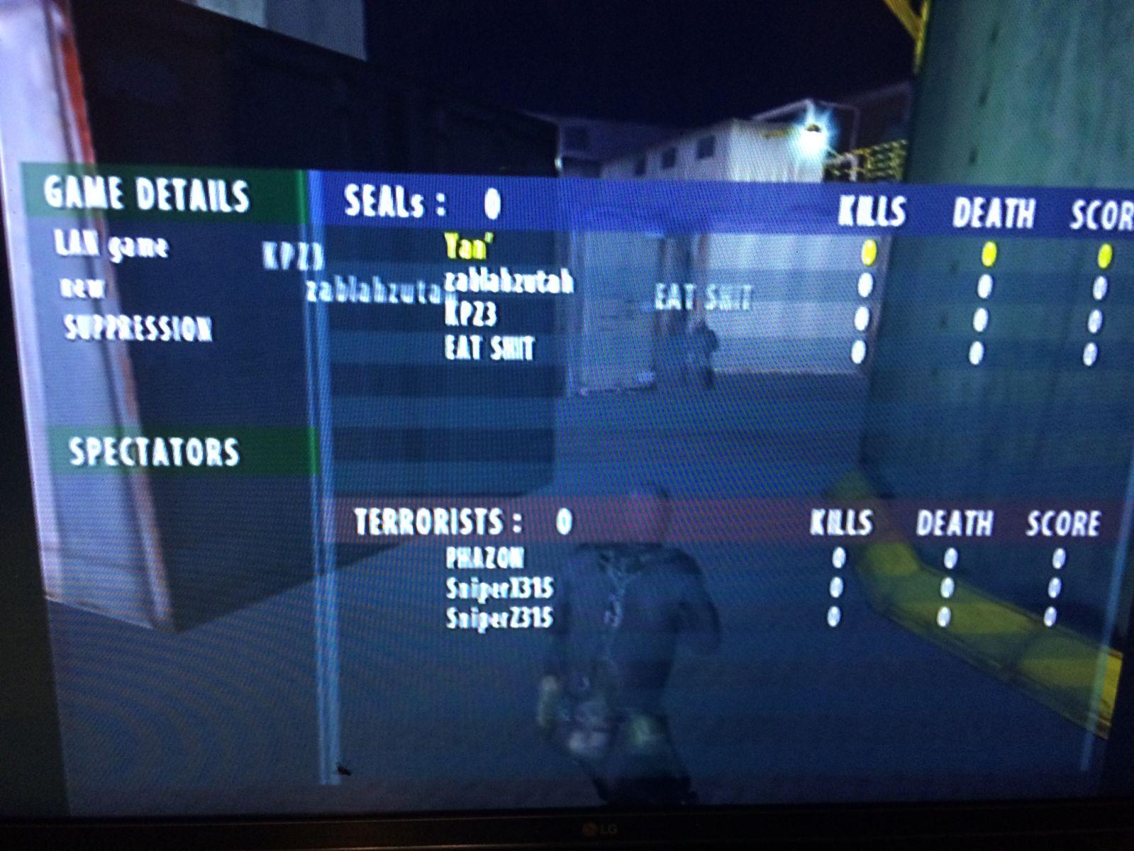 Playstation 2 - SOCOM II Online