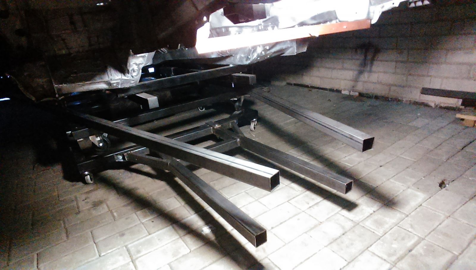 Variklių platformos