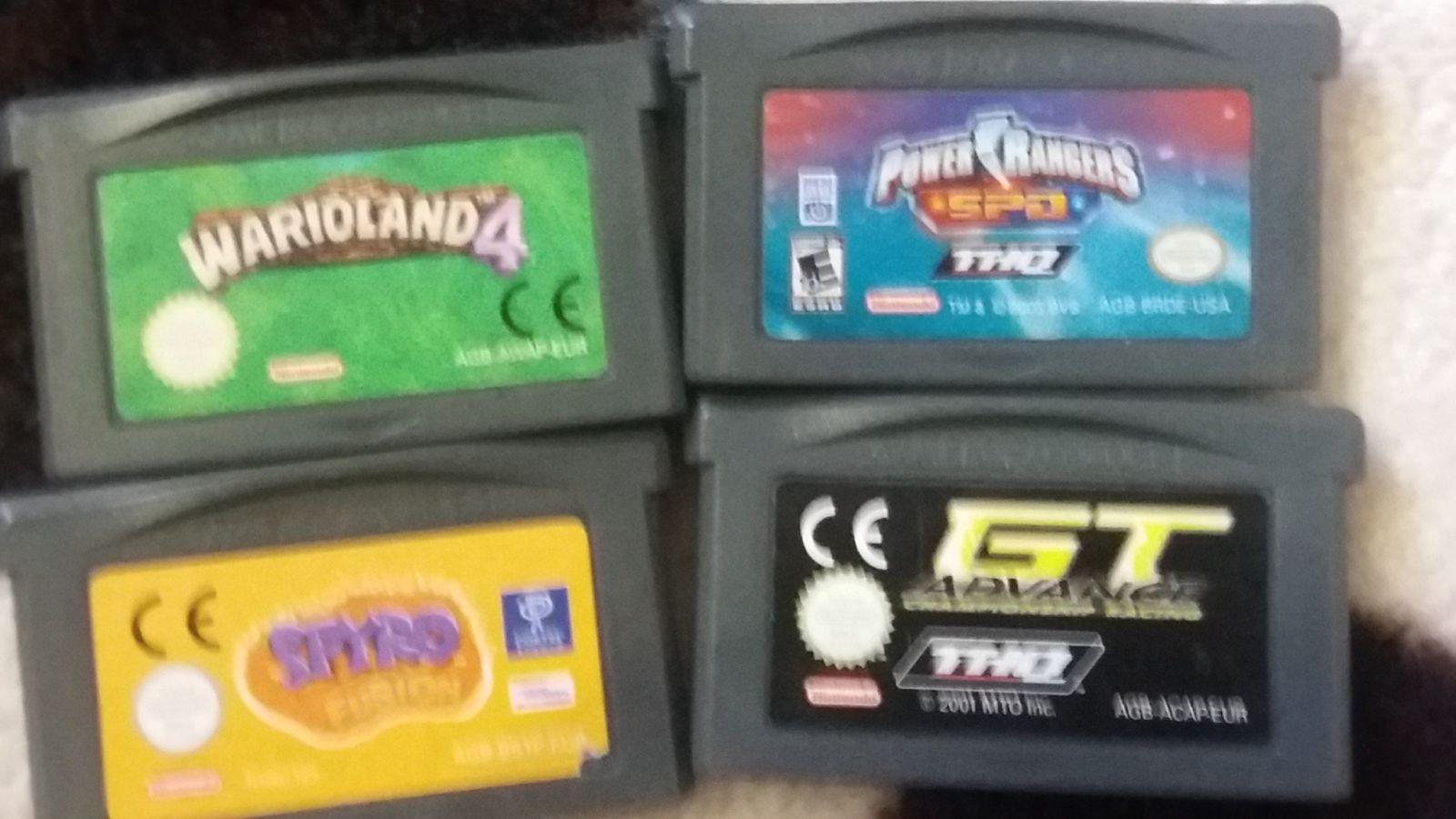 Mano GBA žaidimų kolekcija :D