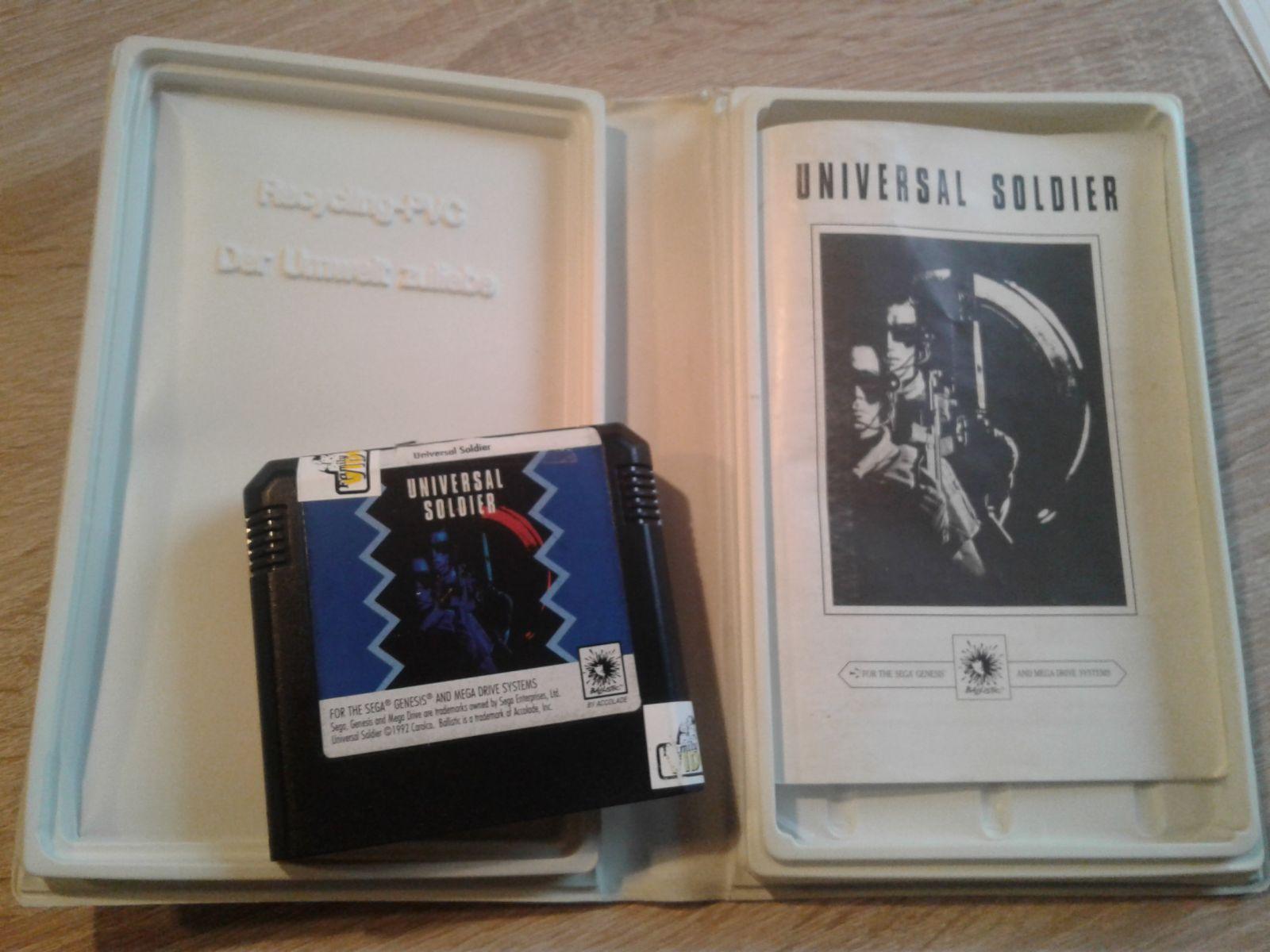 Universal Soldier Skirta Sega Mega Drive Konsolei