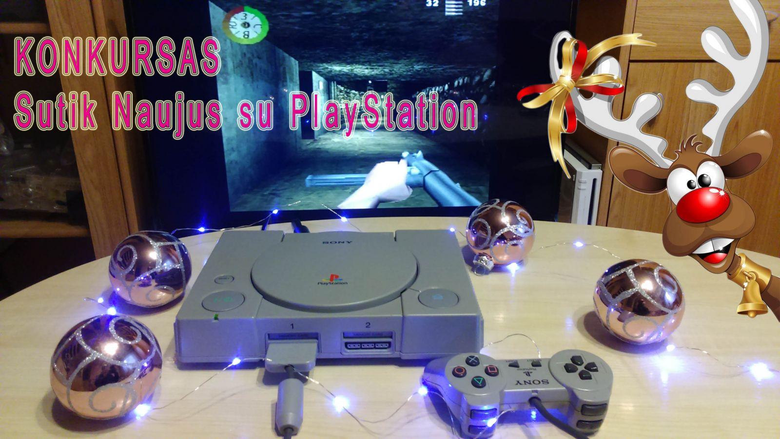 KONKURSAS: Naujieji su PlayStation
