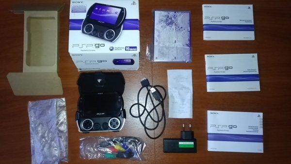PSP Go konsolė