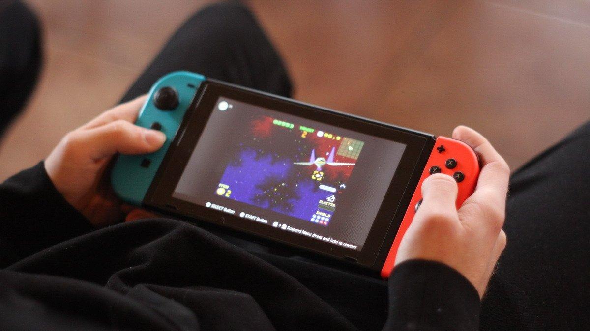 Nintendo Switch konsolė
