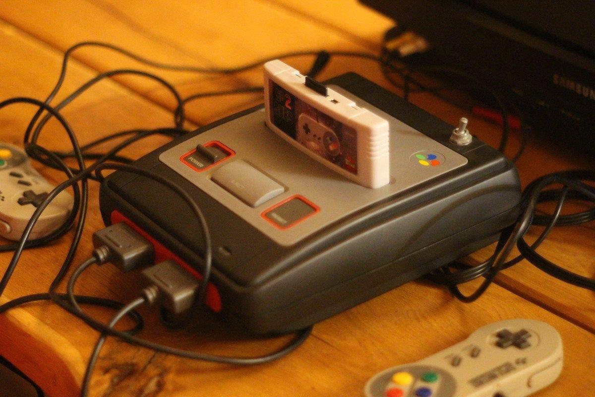 Super Nintendo su flashcard