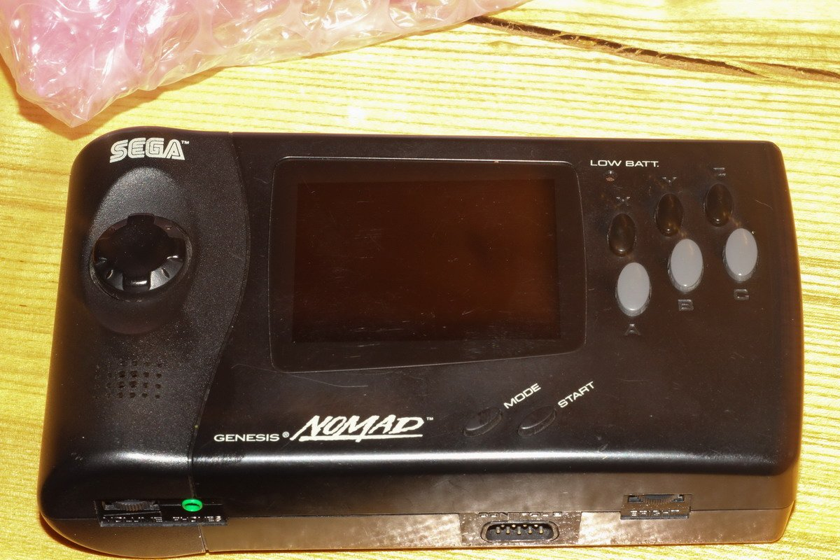 Sega Nomad konsolė