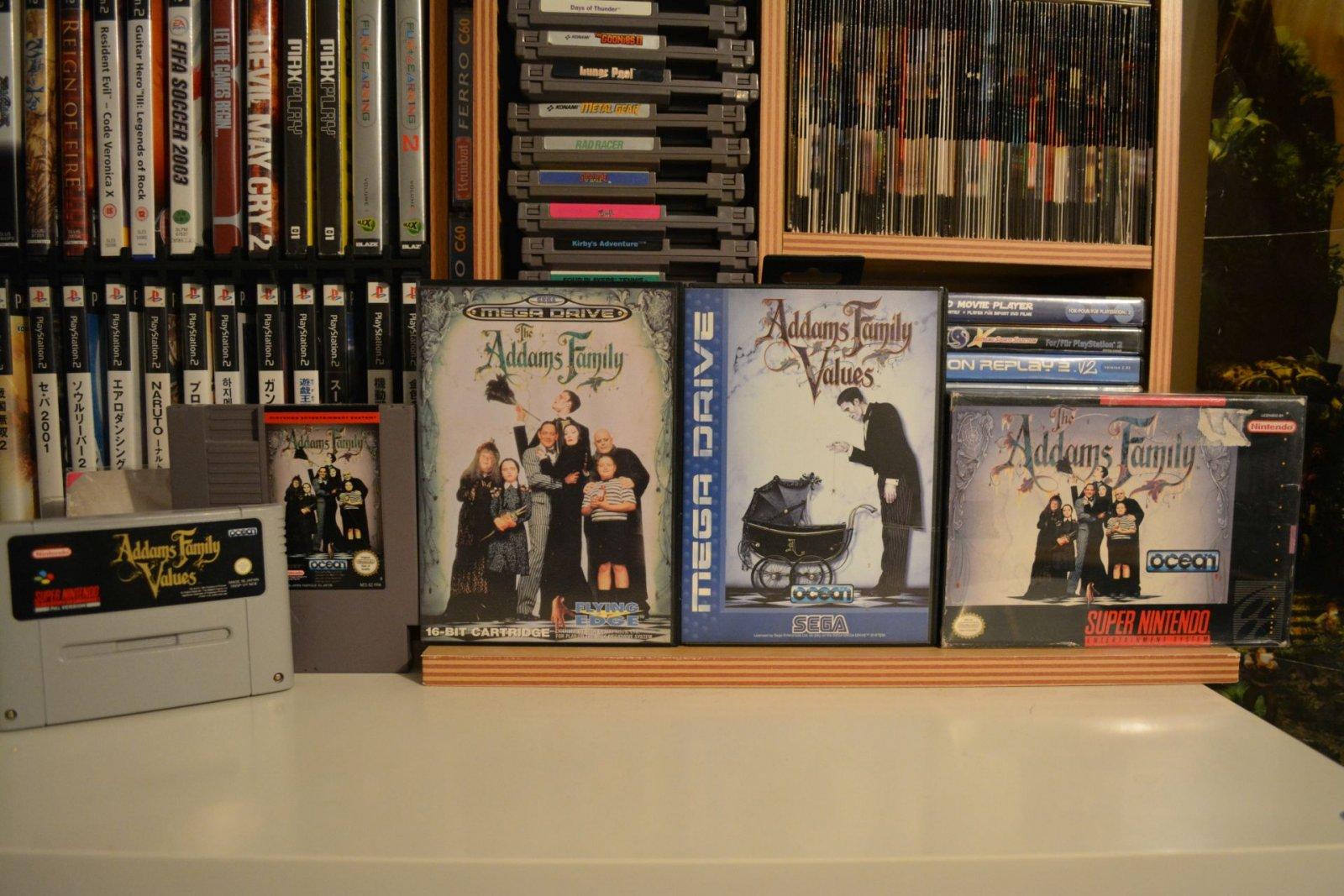 Addams Family set resized