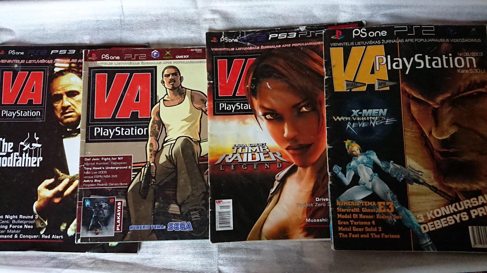 V.A. PlayStation žurnalai