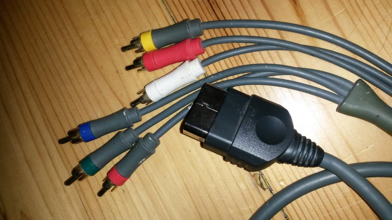XBOX komponentinis kabelis