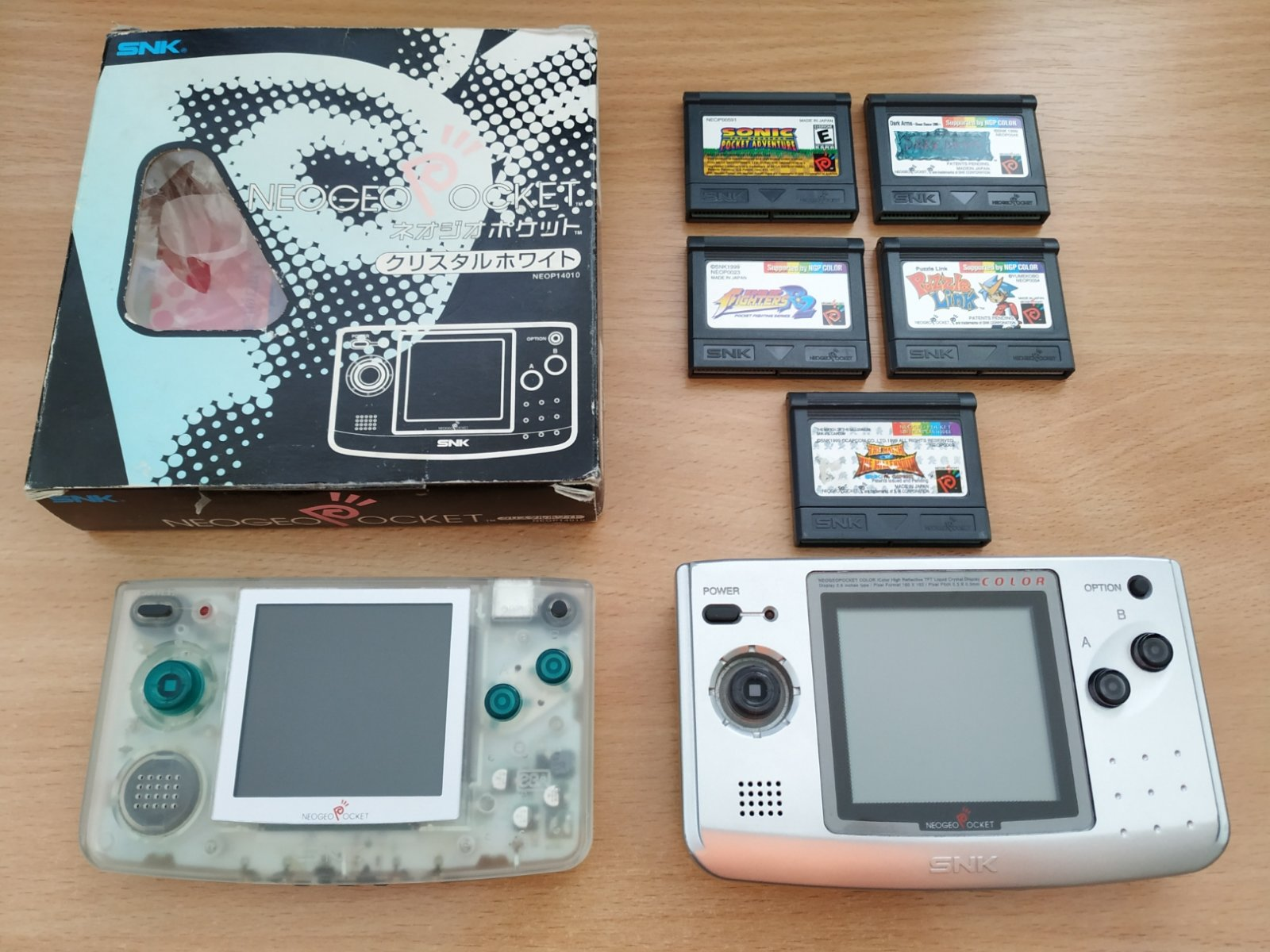 Neo Geo Pocket kolekcija