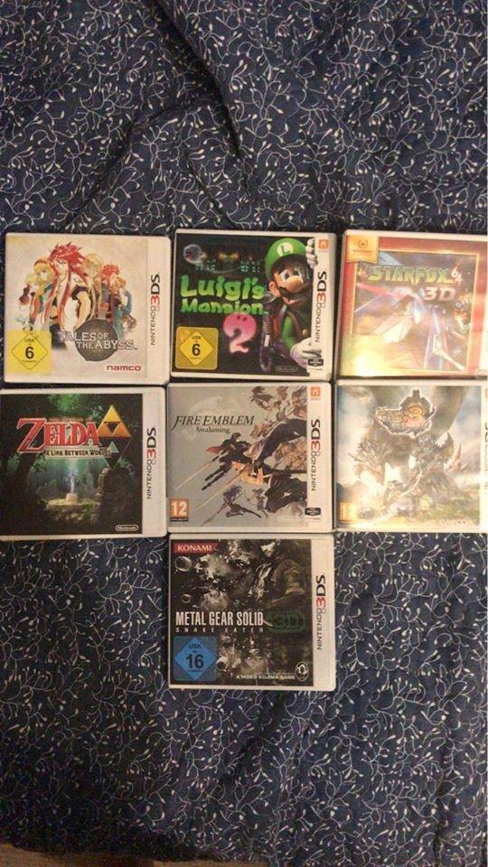 Nintendo 3DS mini kolekcija.