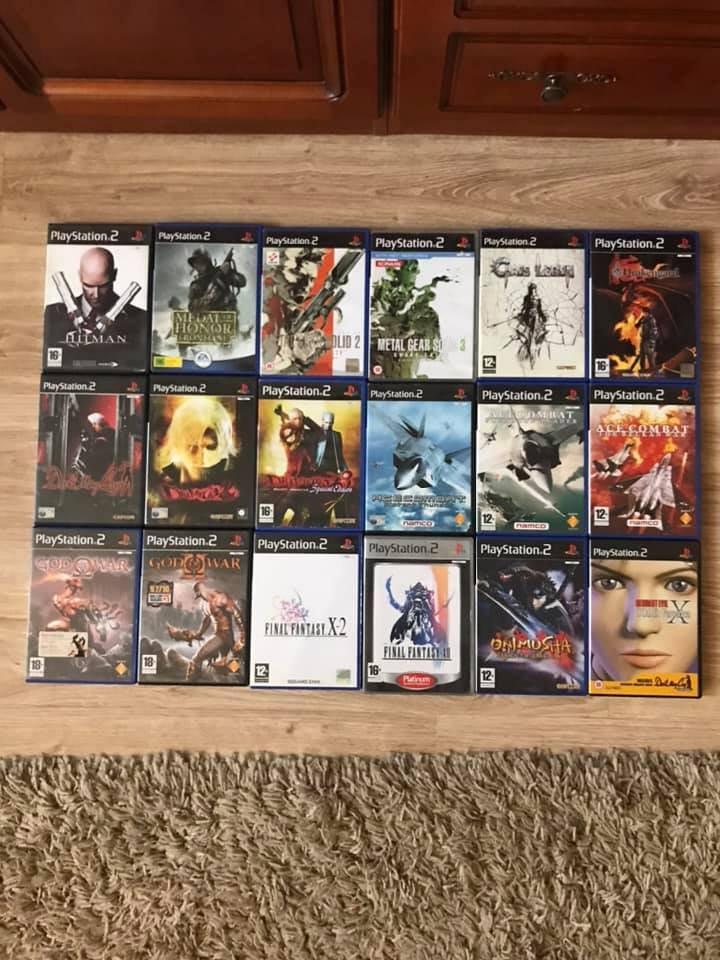 Mini PS2 kolekcija.