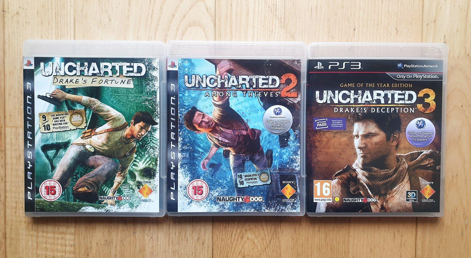 Uncharted PS3 serija