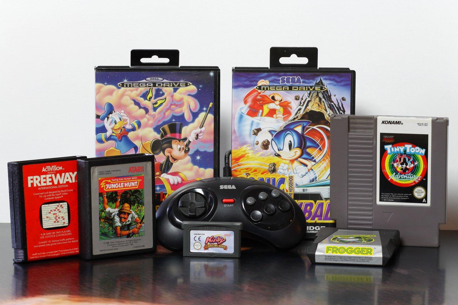 Sega, Atari 2600, GBA, NES