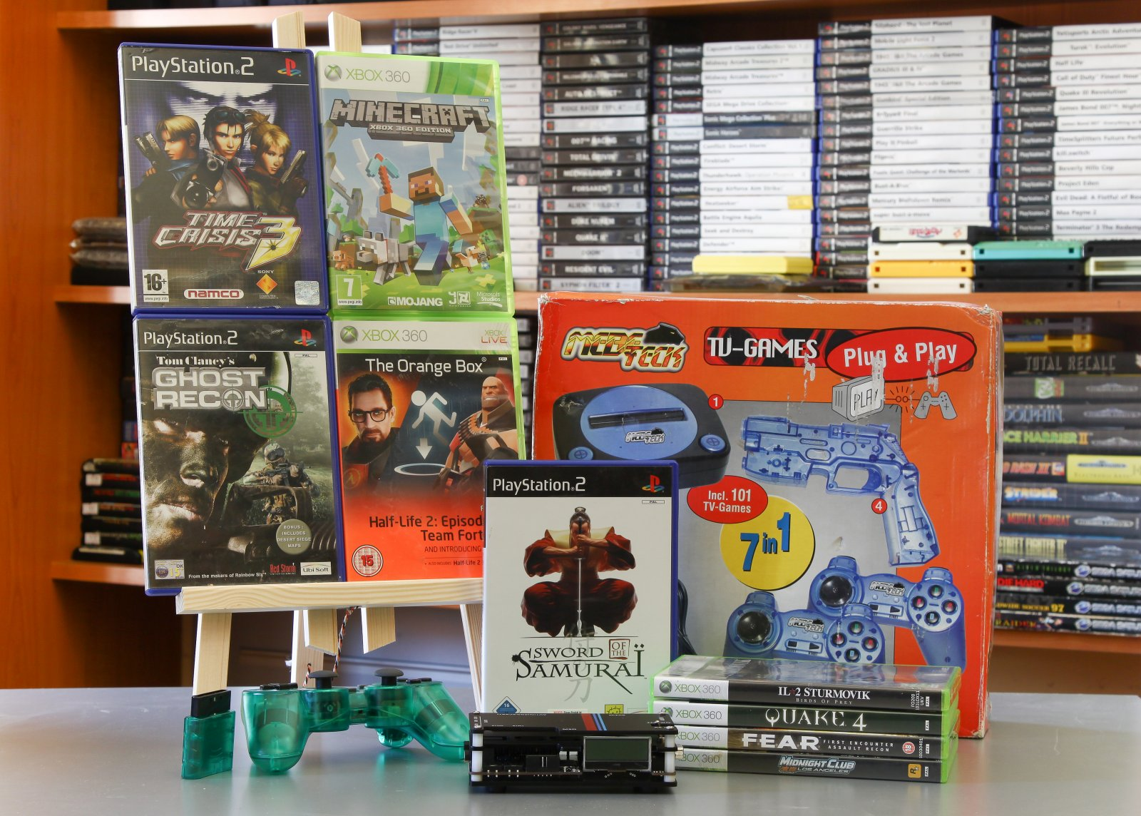 Xbox 360, PS2, Famiclone, OSSC