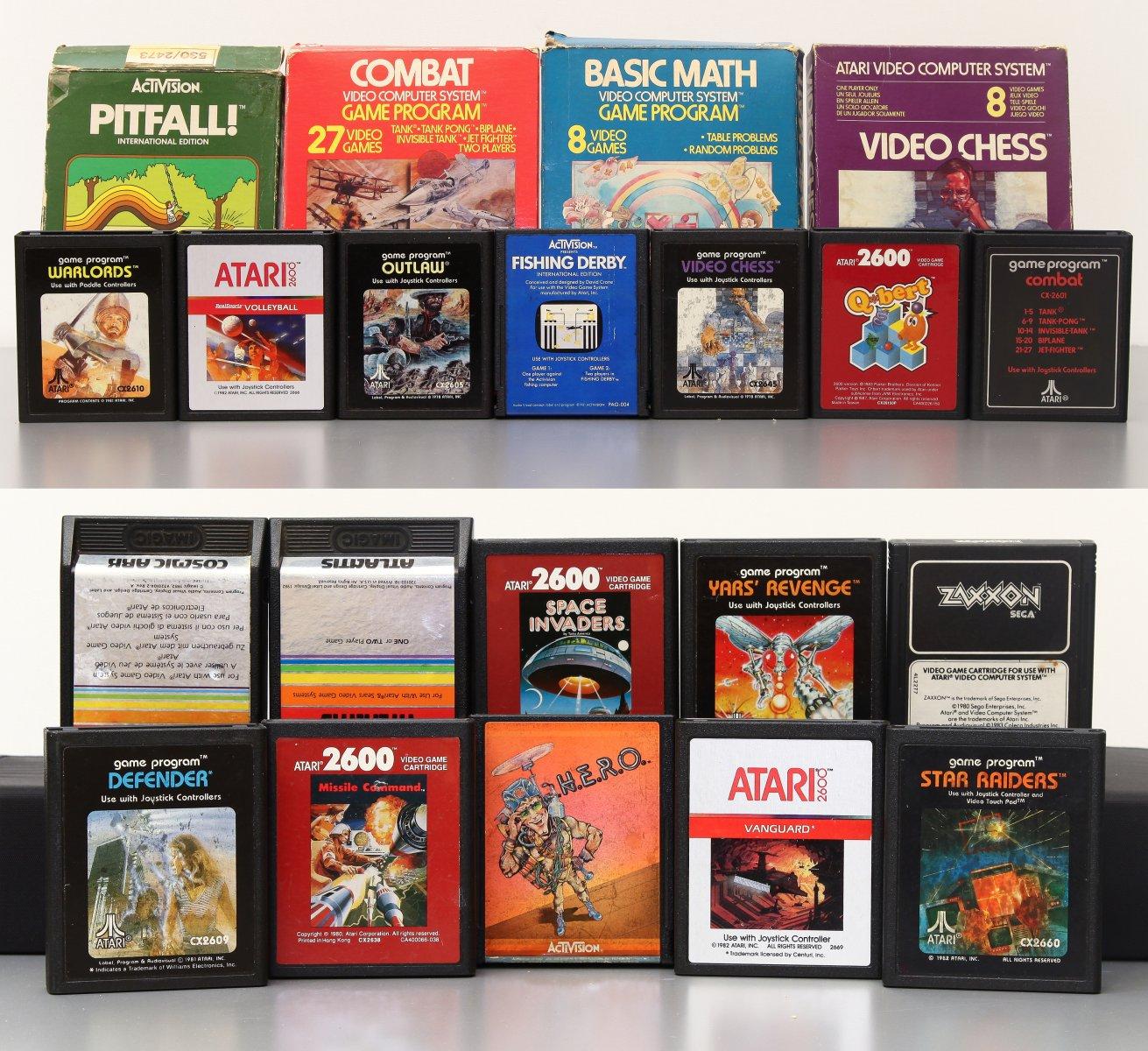Atari 2600 žaidimai