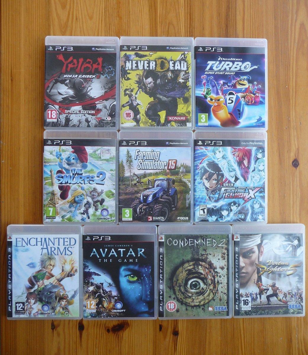 2021 metų PS3 papildymai