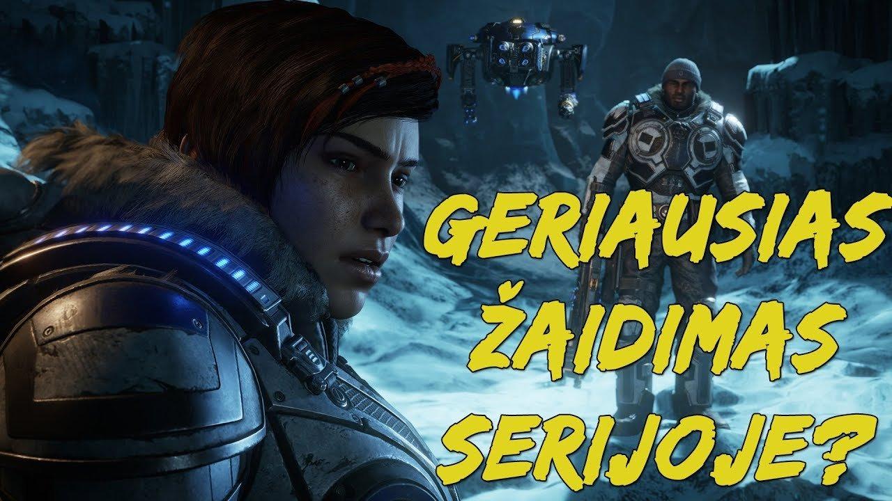 Nuomonė apie žaidimą - Gears 5