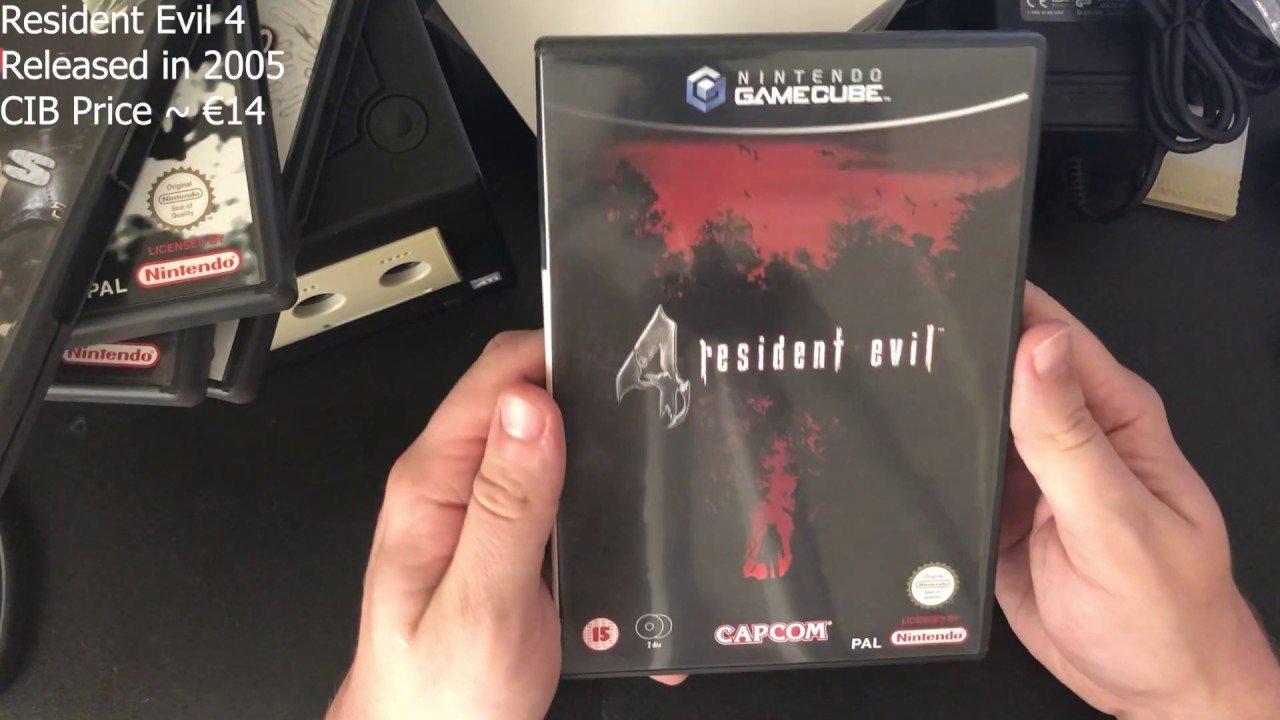 Naujausias papildymas - Nintendo Gamecube su Resident Evil Set'u