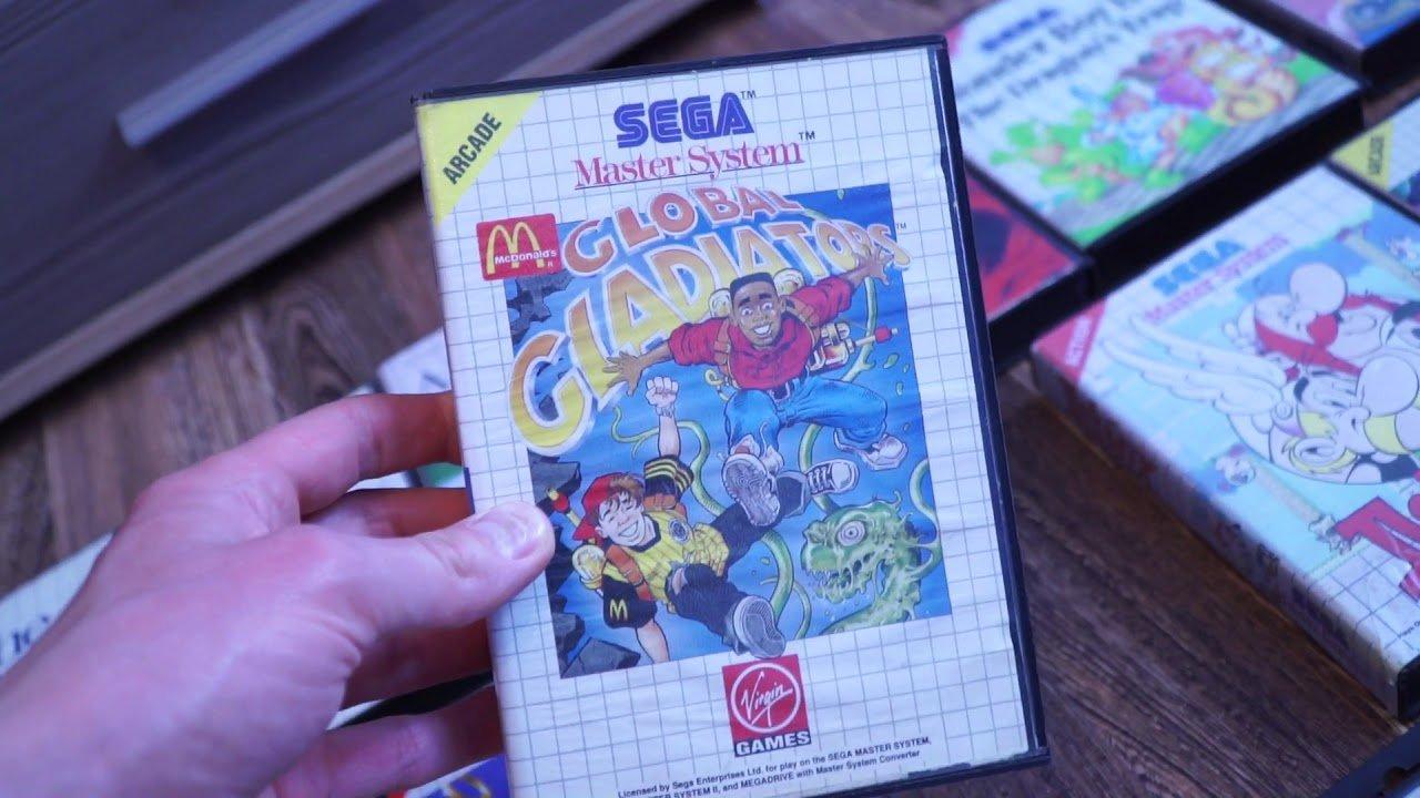 Mano Sega Master System kolekcija