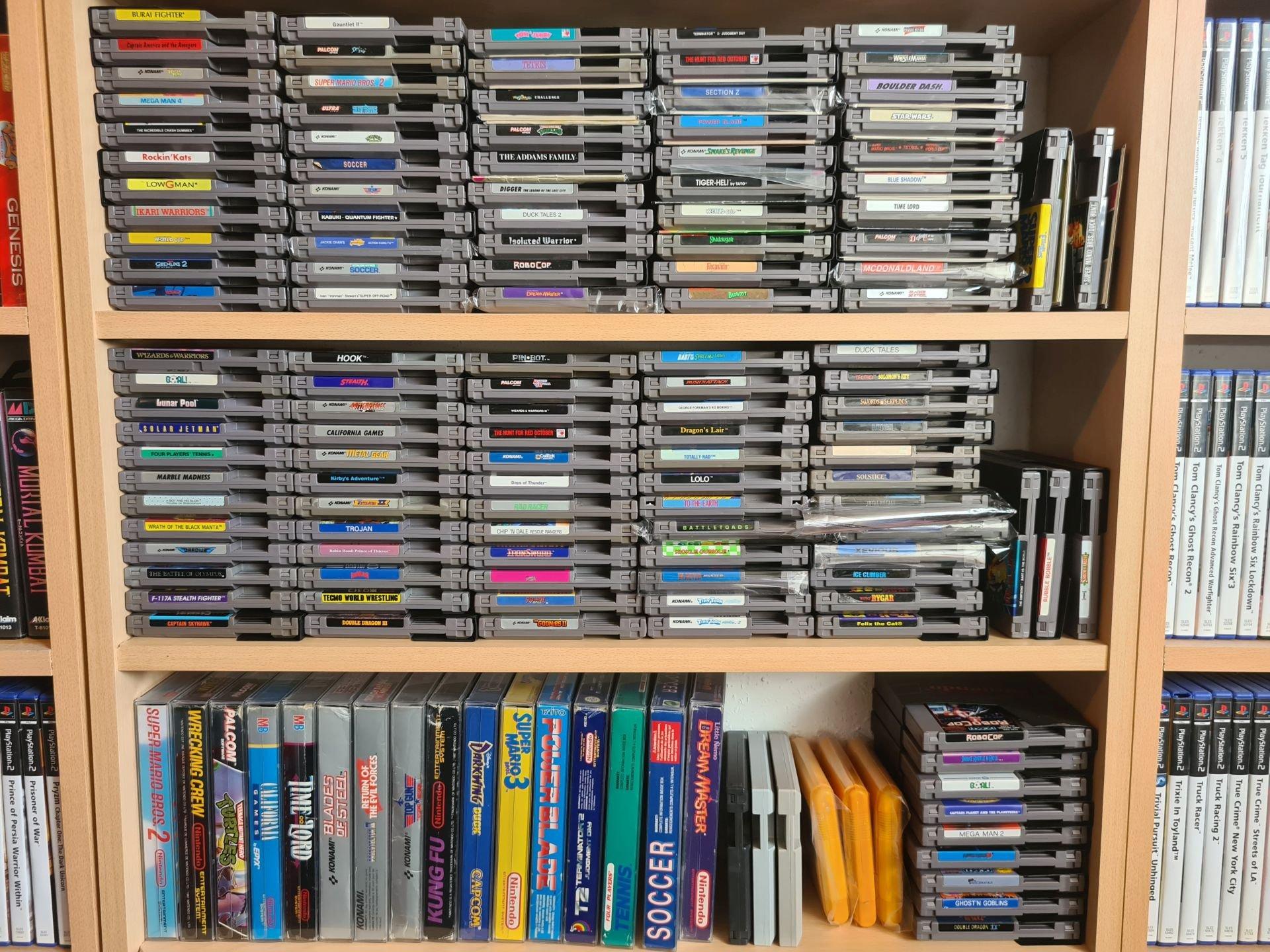 NES kolekcija